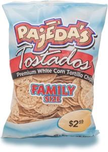 Pajeda's FS White Round Tortilla Chips