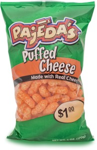 Pajeda's Puffed Cheese Snacks