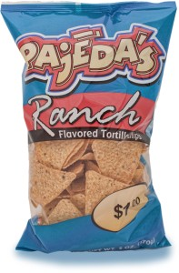 Pajeda's Ranch Tortilla Chips