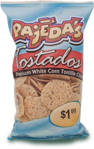 Pajeda's White Round Totilla Chips
