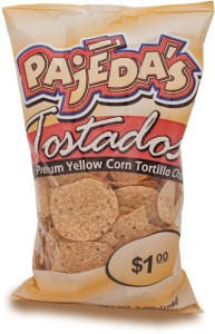 Pajeda's Yellow Round Tortilla Chips